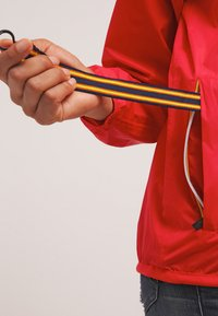 K-Way - LE VRAI CLAUDETTE - Waterproof jacket - red - 6