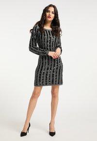 faina - Shift dress - silber - 1