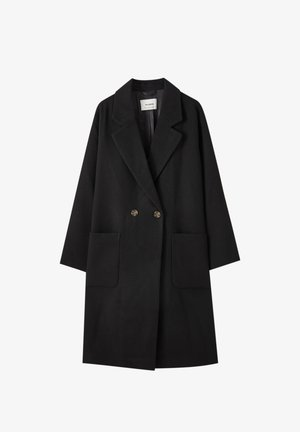 Classic coat - mottled black