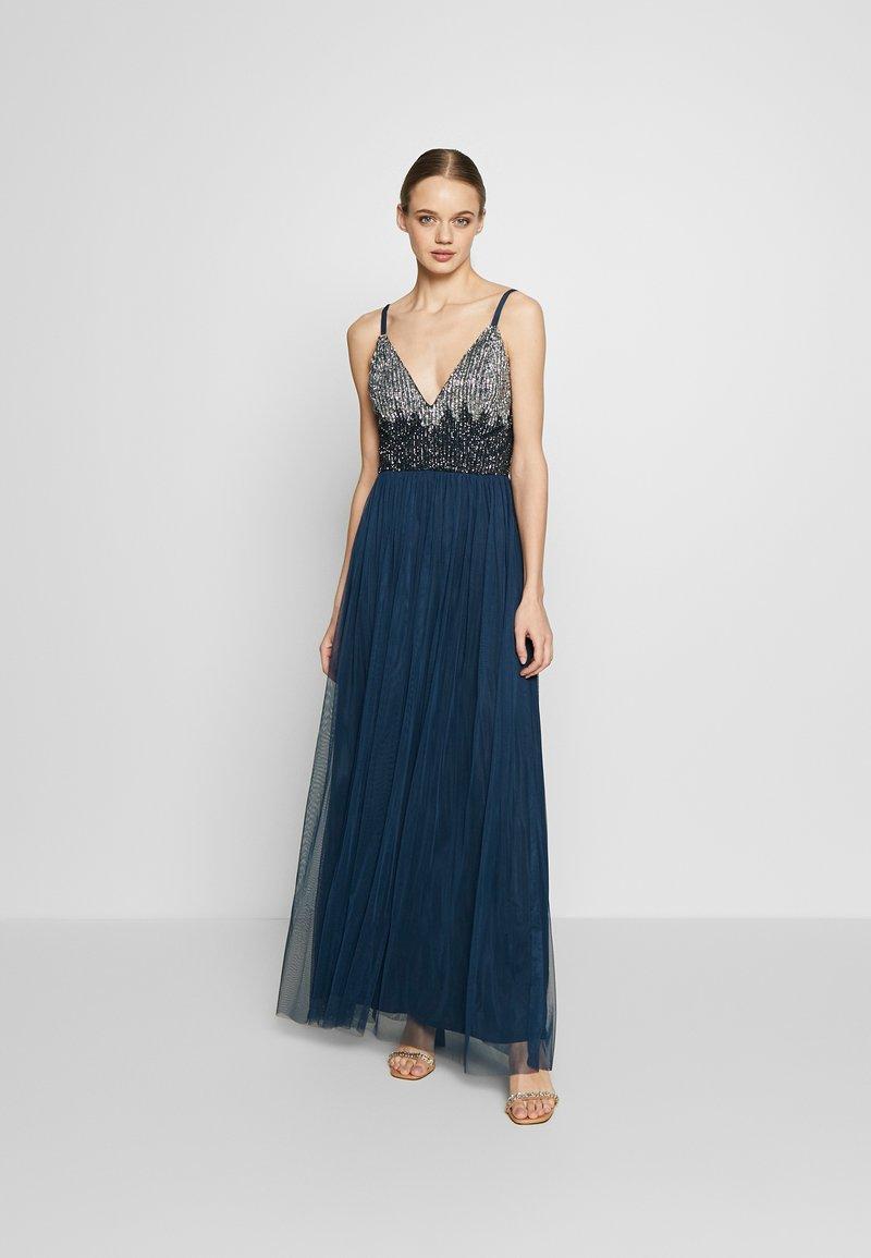 Lace & Beads - CELIA MAXI - Suknia balowa - navy