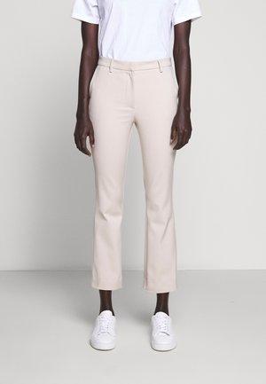NOORA - Spodnie materiałowe - ivory