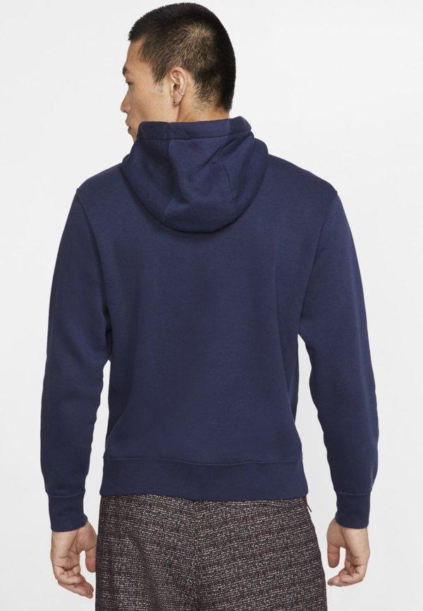 Nike Sportswear Bluza z kapturem - midnight navy/white/granatowy Odzież Męska HUTH