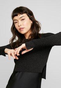 AllSaints - KOWLO SHINE DRESS - Hverdagskjoler - black - 4