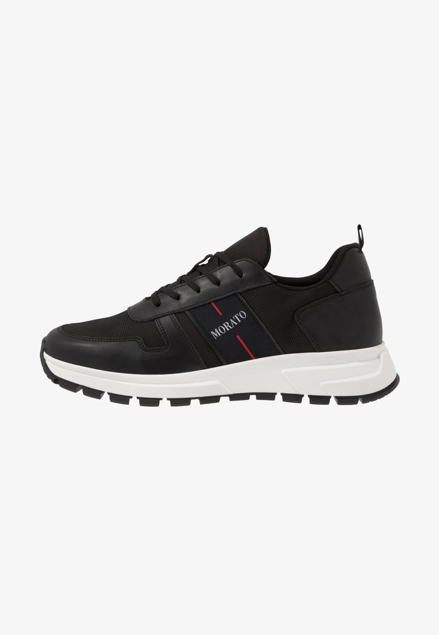 RUN SLIDE - Sneakers basse - black