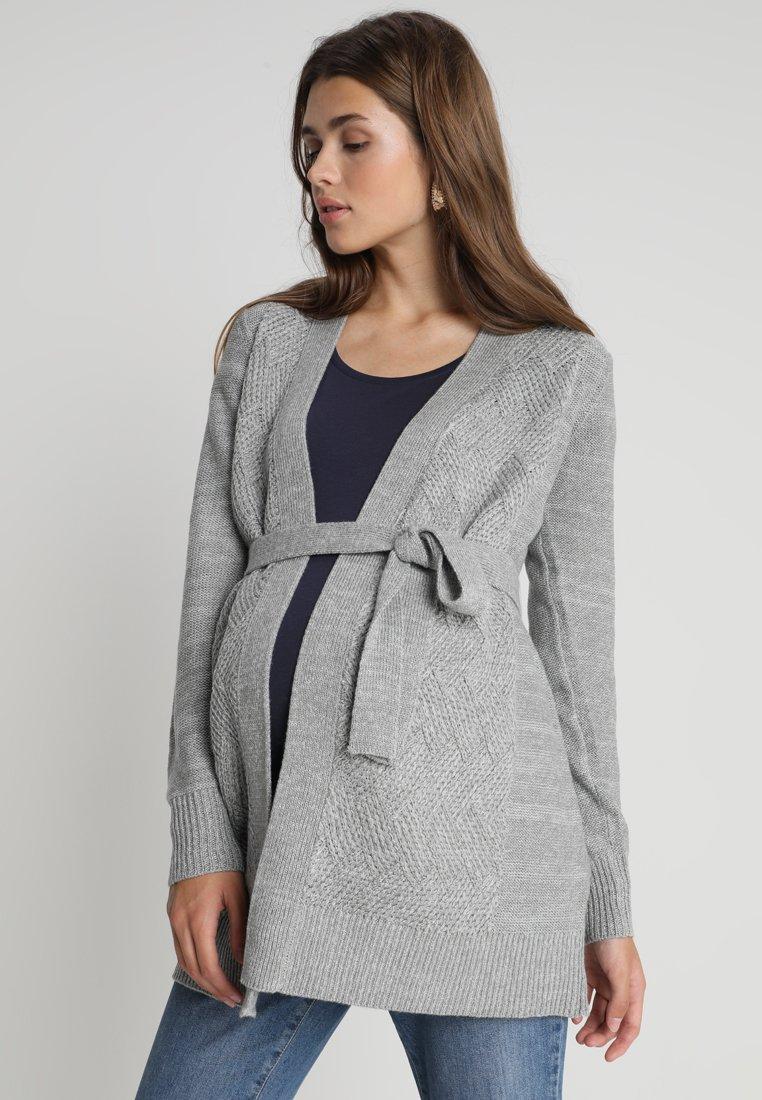 Zalando Essentials Maternity - Neuletakki - mid grey melange
