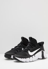 Nike Performance - FREE METCON 3 - Sports shoes - black/white - 2