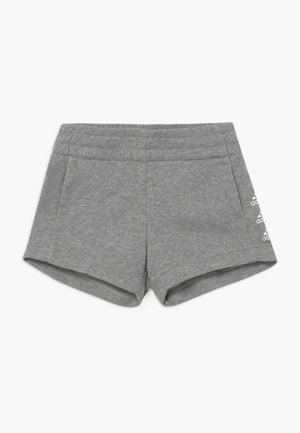 SHORT - Sports shorts - medium grey heather/white