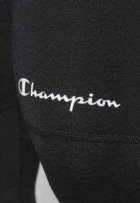 Champion - LEGACY TRAINING LEGGINGS - Tights - black - 5
