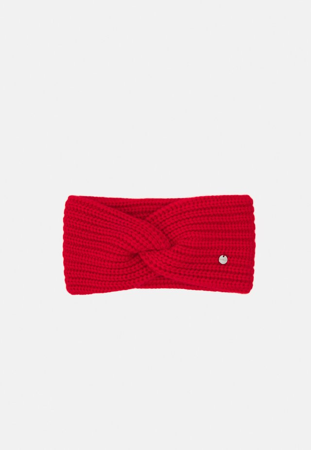 HEADBAND - Ear warmers - red