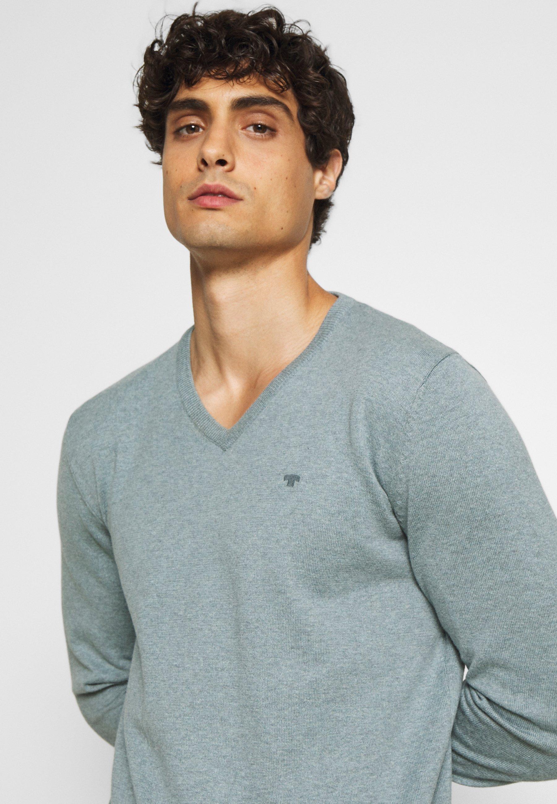 Homme BASIC V NECK - Pullover