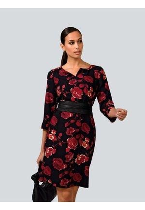 DRESS - Cocktail dress / Party dress - rot/schwarz