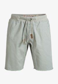 INDICODE JEANS - CARVER - Denim shorts - grey - 3