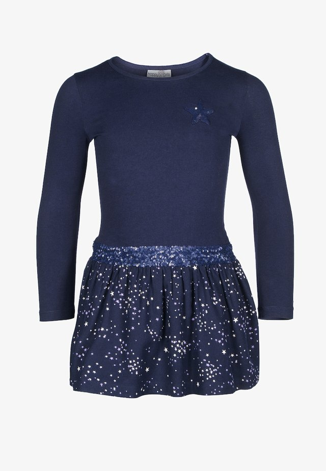MIT STERNEN - Jumper dress - navy