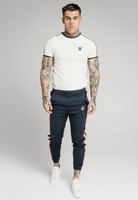 SIKSILK - PREMIUM RINGER GYM TEE - Basic T-shirt - off white - 1