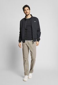 Schott - CABLE - Summer jacket - navy stripe - 1
