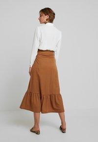 mint&berry - A-line skirt - brown - 2