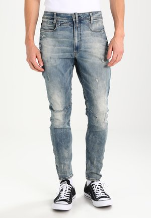 D-STAQ 3D SUPER SLIM - Džíny Relaxed Fit - lor superstretch