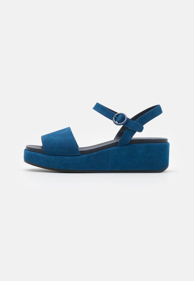 MISIA - Sandales à plateforme - blue