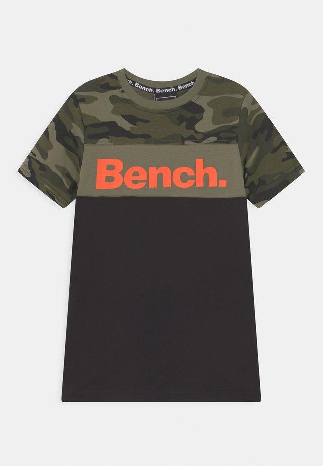 BADEN - T-shirts med print - jet black