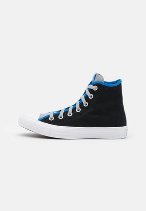 CHUCK TAYLOR ALL STAR DIGITAL TERRAIN UNISEX - Sneakersy wysokie - black/ash stone/digital blue