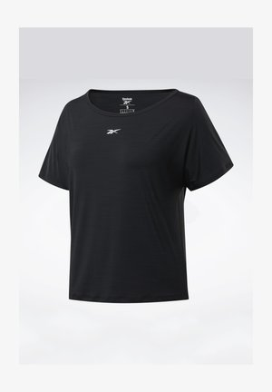 ACTIVCHILL BOXY T-SHIRT - Sports shirt - black