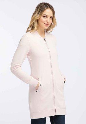Cardigan - pink melange