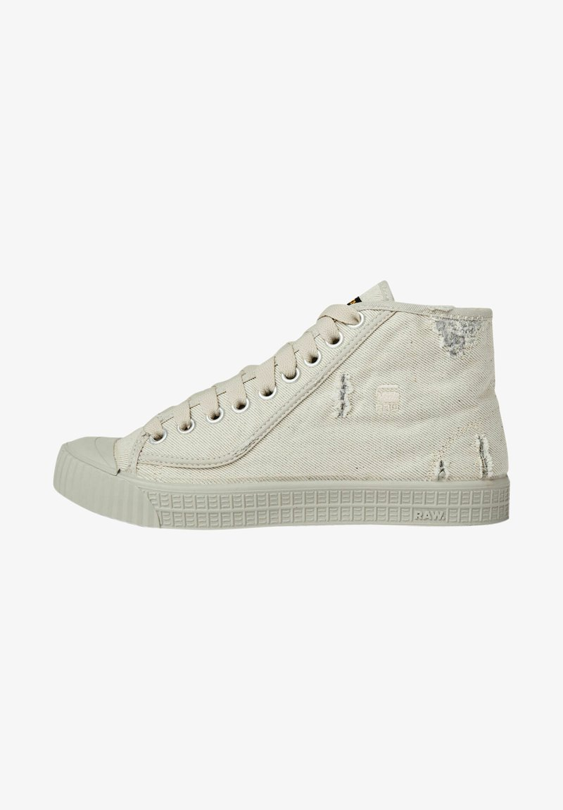 G-Star - ROVULC 50 YEARS DENIM MID SNEAKERS - Sneakers laag - ecru