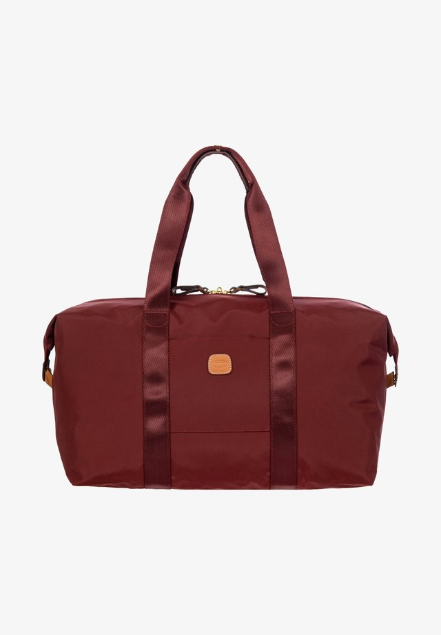 Weekend bag - bordeaux