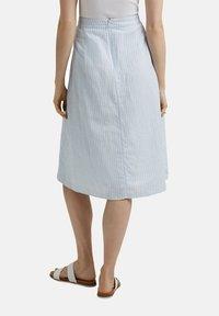Esprit - A-line skirt - light blue - 8