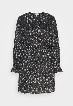 COLLAR DETAIL TEADRESS - Day dress - multi