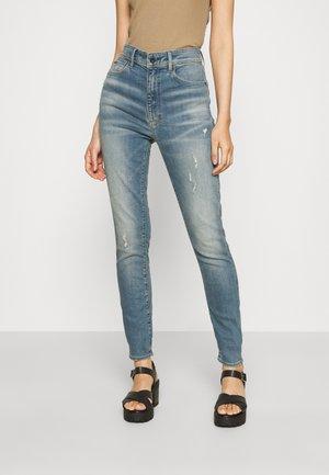 KAFEY ULTRA HIGH SKINNY - Jeans Skinny Fit - antic faded monaco blue