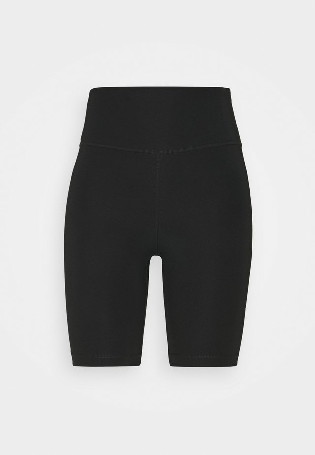 RUN SHORT - Legginsy - black