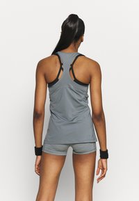Nike Performance - TANK ALL OVER  - Camiseta de deporte - smoke grey/black - 2