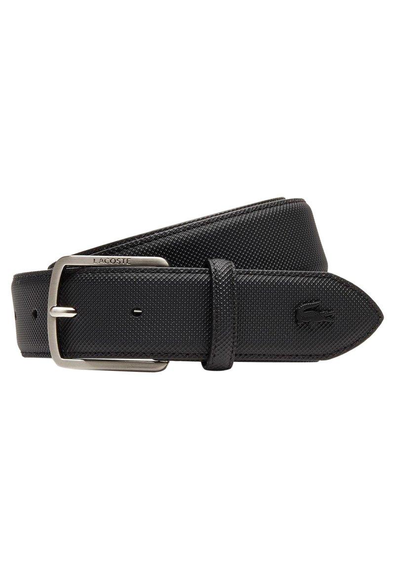 Lacoste - LACOSTE - CEINTURE HOMME RC4009 - Belt - noir