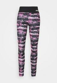JYN - Collants - black/pink