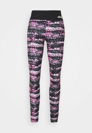 JYN - Leggings - black/pink