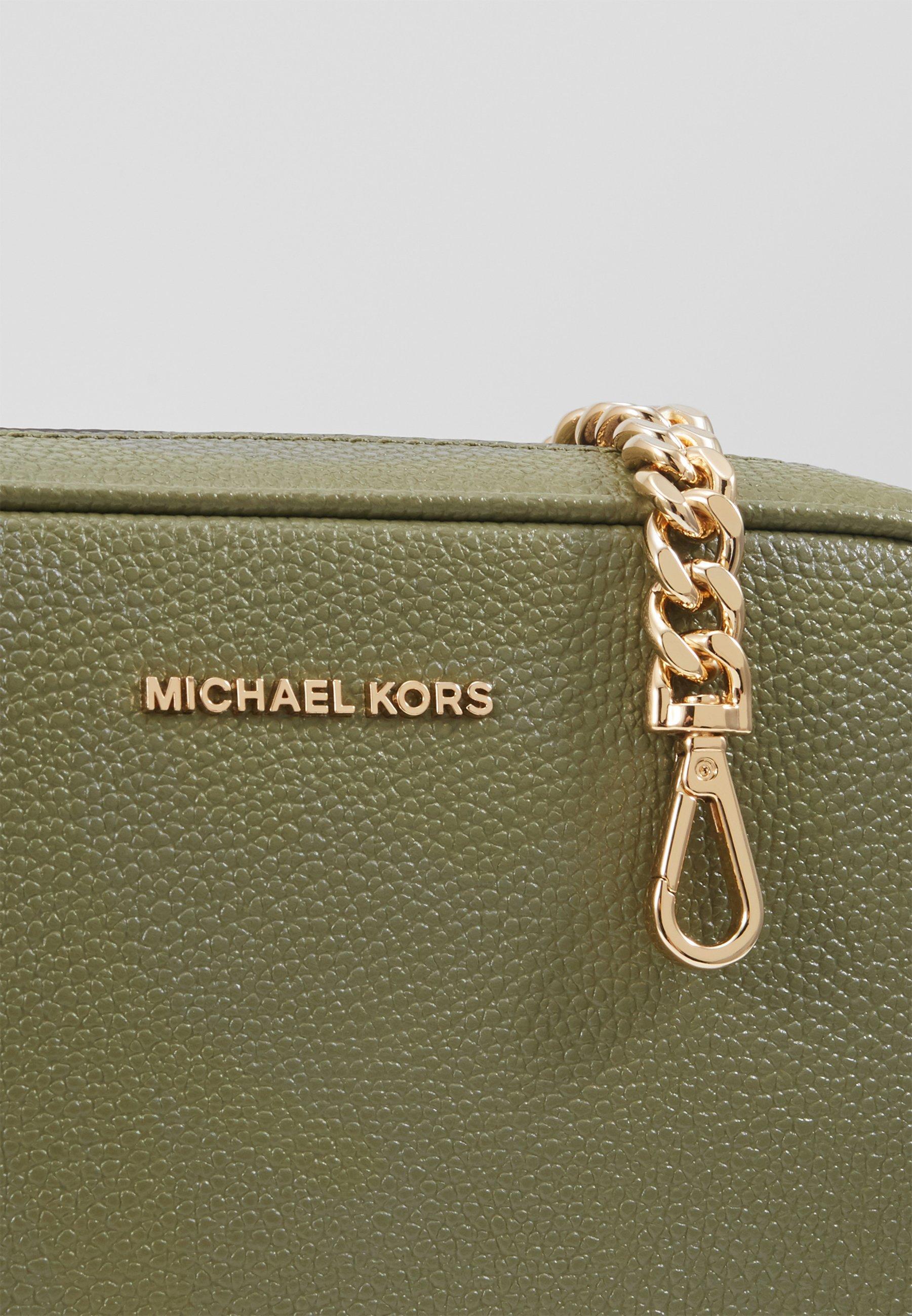 Excellent Outlet MICHAEL Michael Kors JET CAMERA BAG - Across body bag - army green   women's accessories 2020 EIrmp