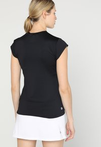 BIDI BADU - BELLA 2.0 TECH NECK TEE - Basic T-shirt - black - 2