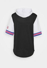 Mitchell & Ness - NBA ALL STAR FASHION HOODY - Print T-shirt - black/silver - 6