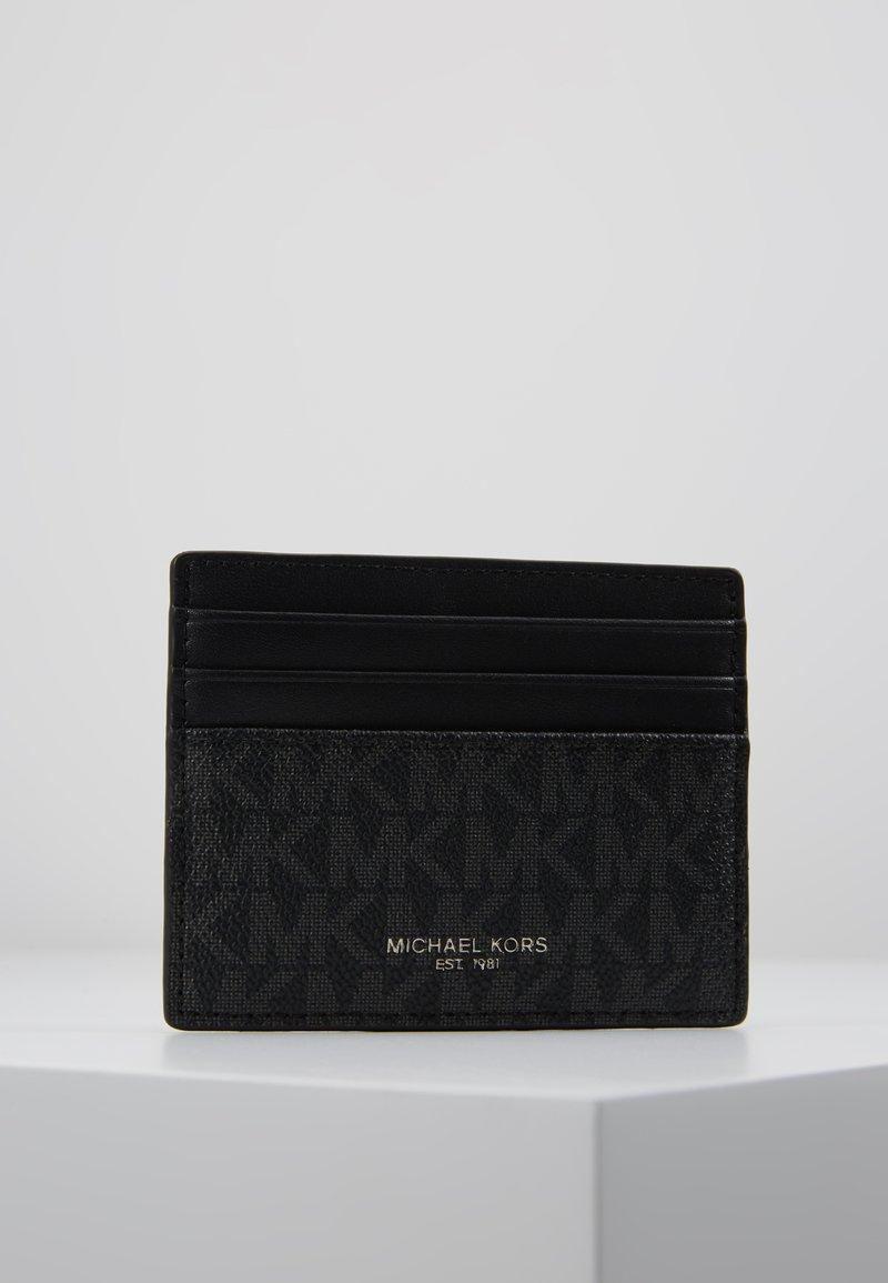 Michael Kors - TALL CARD CASE UNISEX - Plånbok - black