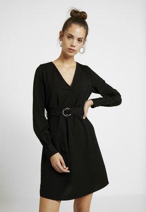 VMABBELONE SHORT DRESS - Košilové šaty - black