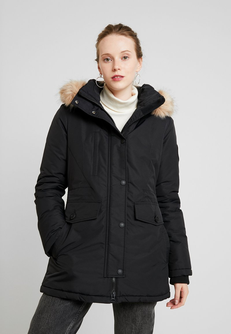 Superdry - ASHLEY EVEREST - Winter coat - black