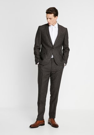 BUCKLAND SUIT - Kostym - dark brown