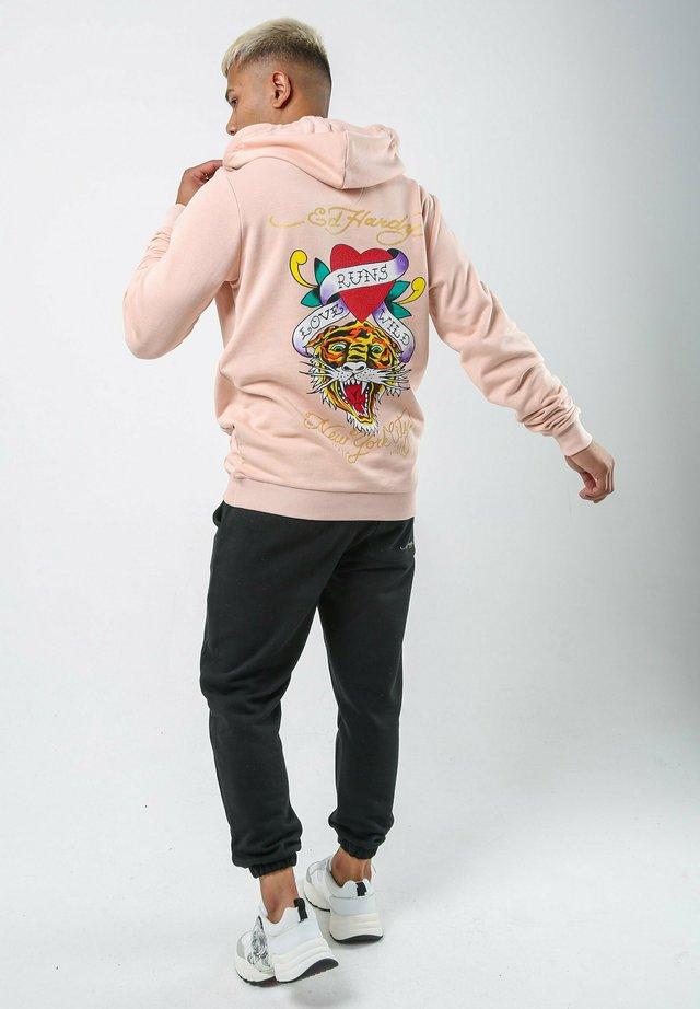 WILD-LOVE HOODY - Hoodie - dusty pink