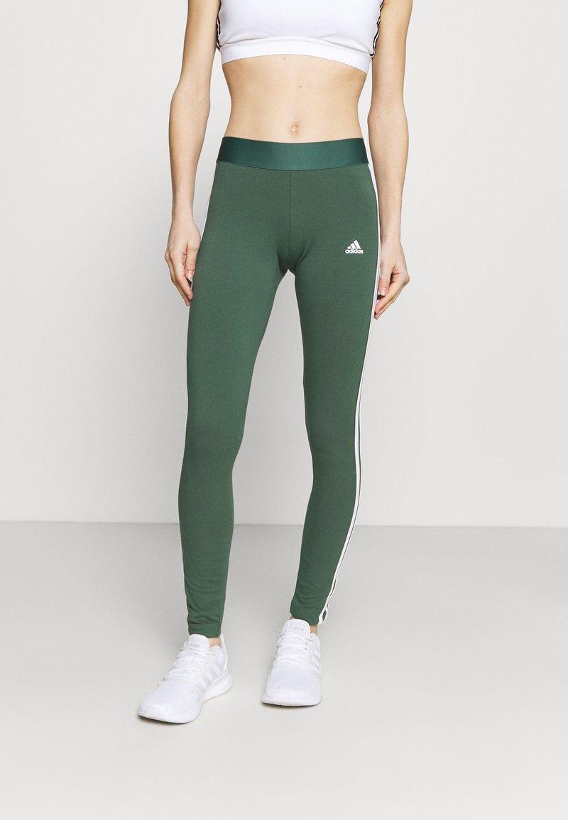 adidas Performance - Tracksuit bottoms - khaki