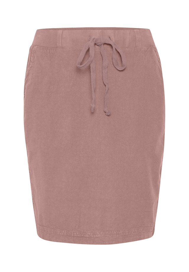 NAYA  - A-line skirt - old rose
