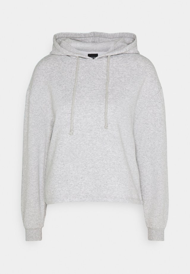 PCCHILLI HOODIE - Hættetrøjer - light grey melange