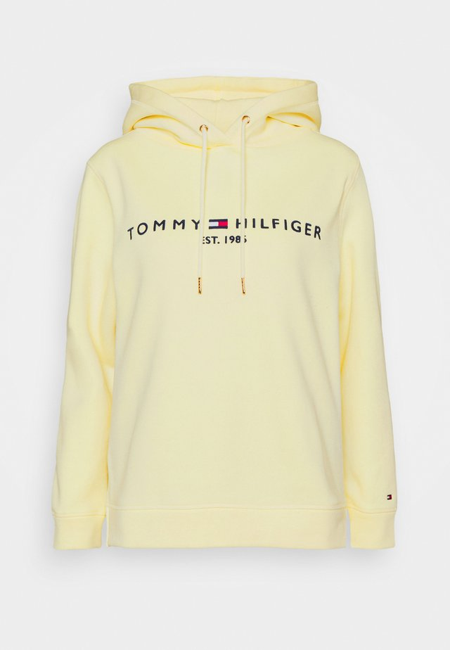 HILFIGER HOODIE - Sweat à capuche - frosted lemon