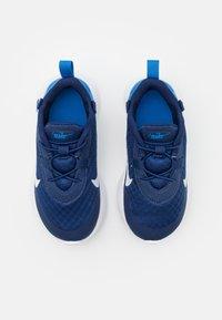 Nike Sportswear - REPOSTO UNISEX - Tenisky - blue void/white/signal blue/black - 3