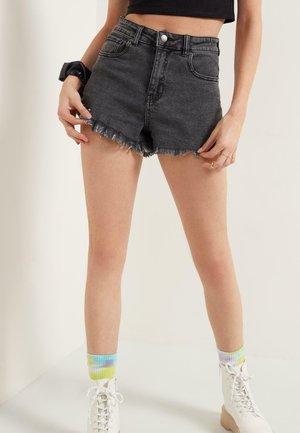 Shorts di jeans - nero jeans